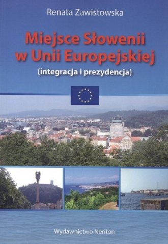 Miejsce Słowenii w Unii Europejskiej - okładka książki