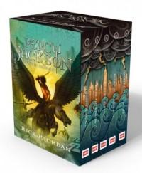 Pakiet Percy Jackson i bogowie - okładka książki