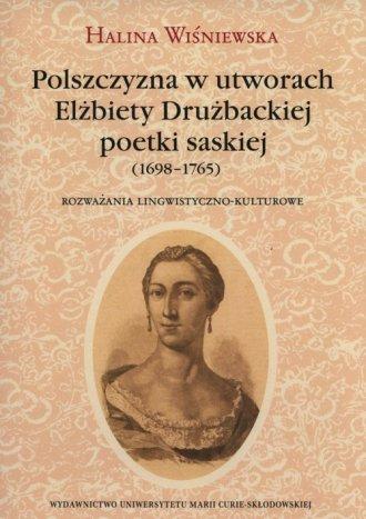Polszczyzna w utworach Elżbiety - okładka książki