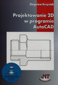 Projektowanie 2D w programie AutoCAD - okładka książki