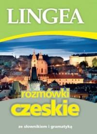 Rozmówki czeskie ze słownikem i gramatyką - okładka podręcznika