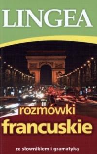 Rozmówki francuskie ze słownikiem - okładka podręcznika