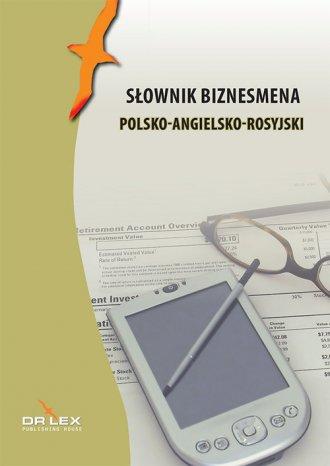 Słownik biznesmena polsko-angielsko-rosyjski - okładka książki