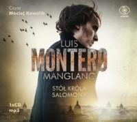 Stół króla Salomona - Luis Montero - pudełko audiobooku