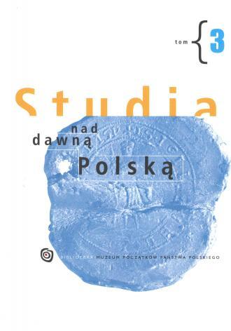 Studia nad dawną Polską. Tom 3 - okładka książki
