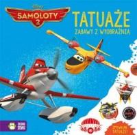 Tatuaże. Samoloty 2 - okładka książki