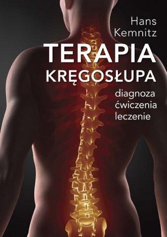 Terapia kręgosłupa. Diagnoza, ćwiczenia, - okładka książki