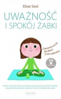 Uważność i spokój żabki - okładka książki