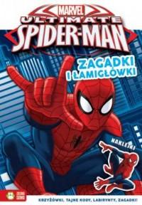 Zagadki i łamigłówki. Spider Man - okładka książki