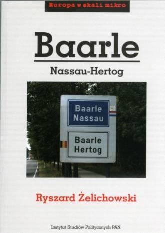 Baarle Nassau-Hertog. Europa w - okładka książki