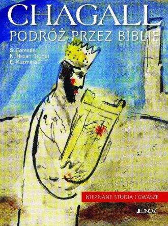 Chagall. Podróż przez Biblię. Nieznane - okładka książki