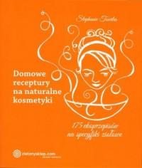 Domowe receptury na naturalne kosmetyki - okładka książki