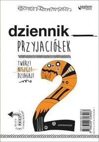 Dziennik przyjaciółek 2. Twórz, niszcz, działaj! - okładka książki