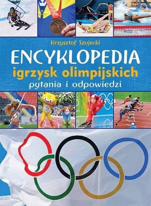 Encyklopedia igrzysk olimpijskich. - okładka książki