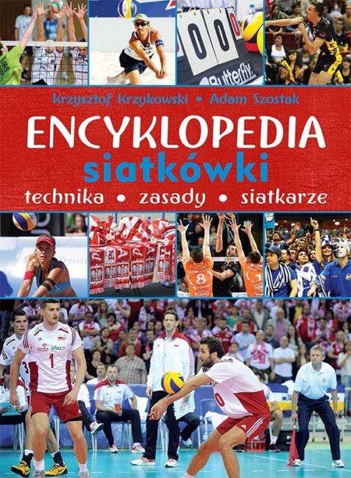 Encyklopedia siatkówki. Technika, - okładka książki