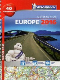 Europe 2016 (skala 1:3 700 000) - okładka książki