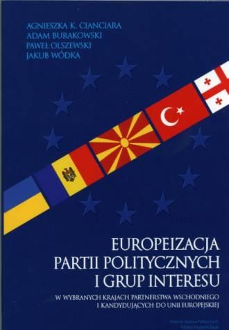 Europeizacja partii politycznych - okładka książki