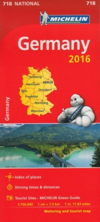 Germany (skala 1:750 000) - okładka książki