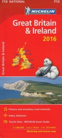 Great Britain & Ireleand (skala 1:1 000 000) - okładka książki