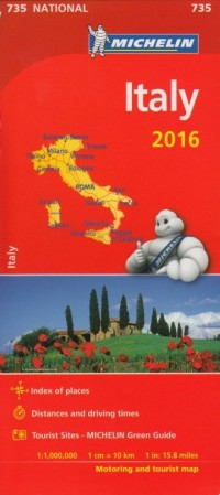Italy (skala 1:1 000 000) - okładka książki