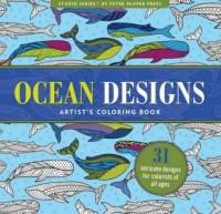 Kolorowanka artystyczna. Ocean - okładka książki