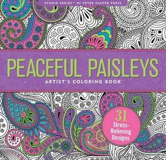 Kolorowanka artystyczna. Paisley - okładka książki