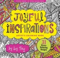 Kolorowanka artystyczna. Radosne inspiracje - okładka książki
