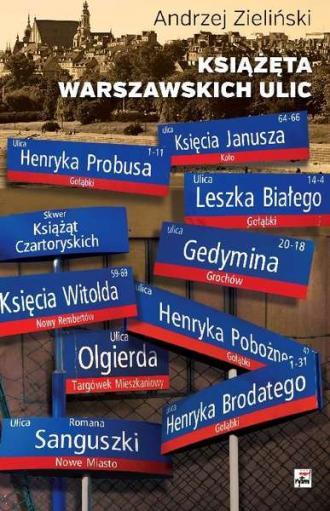 Książęta warszawskich ulic - okładka książki