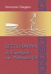 Lectio divina do Ewangelii Mateusza - okładka książki