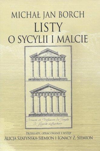 Listy o Sycylii i Malcie - okładka książki