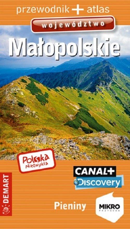 Małopolskie województwo. Przewodnik - okładka książki