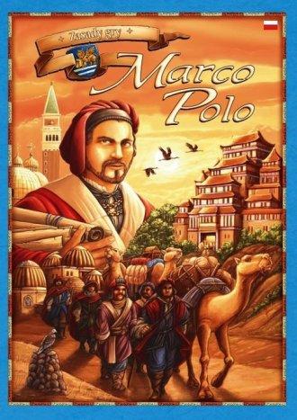 Marco Polo. Planszowa gra strategiczna - zdjęcie zabawki, gry