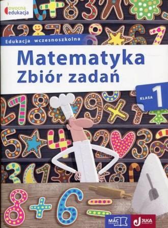 Matematyka. Klasa 1. Szkoła podstawowa. - okładka podręcznika