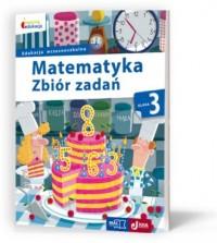 Matematyka. Klasa 3. Szkoła podstawowa. Zbiór zadań - okładka podręcznika