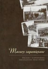 Mazury zapamiętane - okładka książki