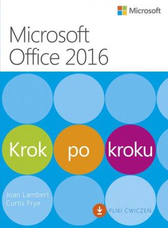 Microssoft Office 2016. Krok po - okładka książki