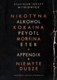 Nikotyna, alkohol ,kokaina - okładka książki
