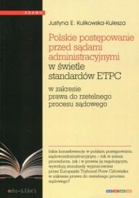Polskie postępowanie przed sądami - okładka książki