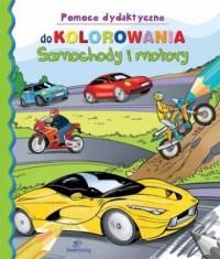 Samochody i motory. Pomoce dydaktyczne - okładka książki
