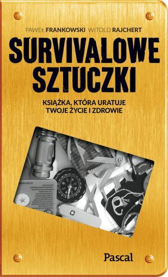 Survivalowe sztuczki - okładka książki