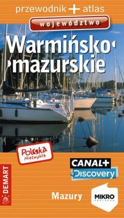 Warmińsko-mazurskie województwo. - okładka książki