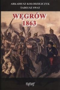 Węgrów 1863 - okładka książki