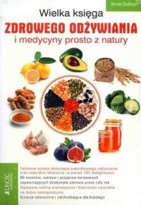 Wielka księga zdrowego odżywiania - okładka książki