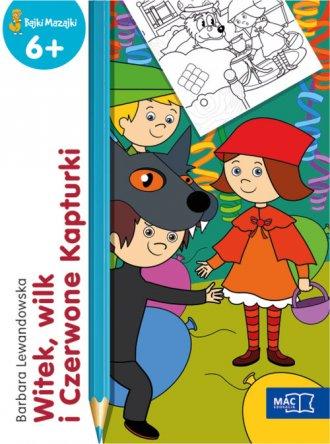 Witek, wilk i Czerwone Kapturki - okładka książki