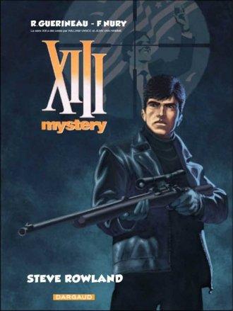 XIII Mystery. Tom 5. Steve Rowland - okładka książki
