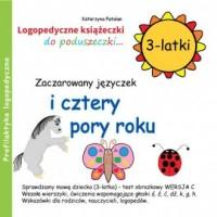 Zaczarowany języczek i cztery pory roku (3-latki) - okładka książki
