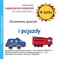 Zaczarowany języczek i pojazdy (4-latki) - okładka książki
