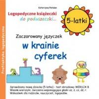 Zaczarowany języczek w krainie cyferek (5-latki) - okładka książki