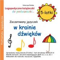 Zaczarowany języczek w krainie dźwięków (5-latki) - okładka książki