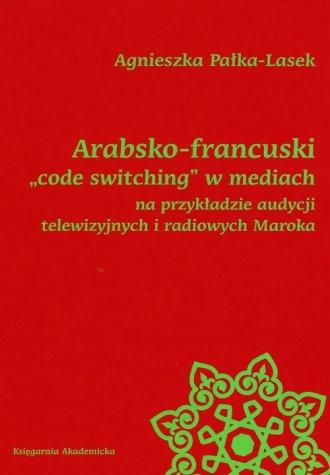 Arabsko-francuski code switching - okładka książki